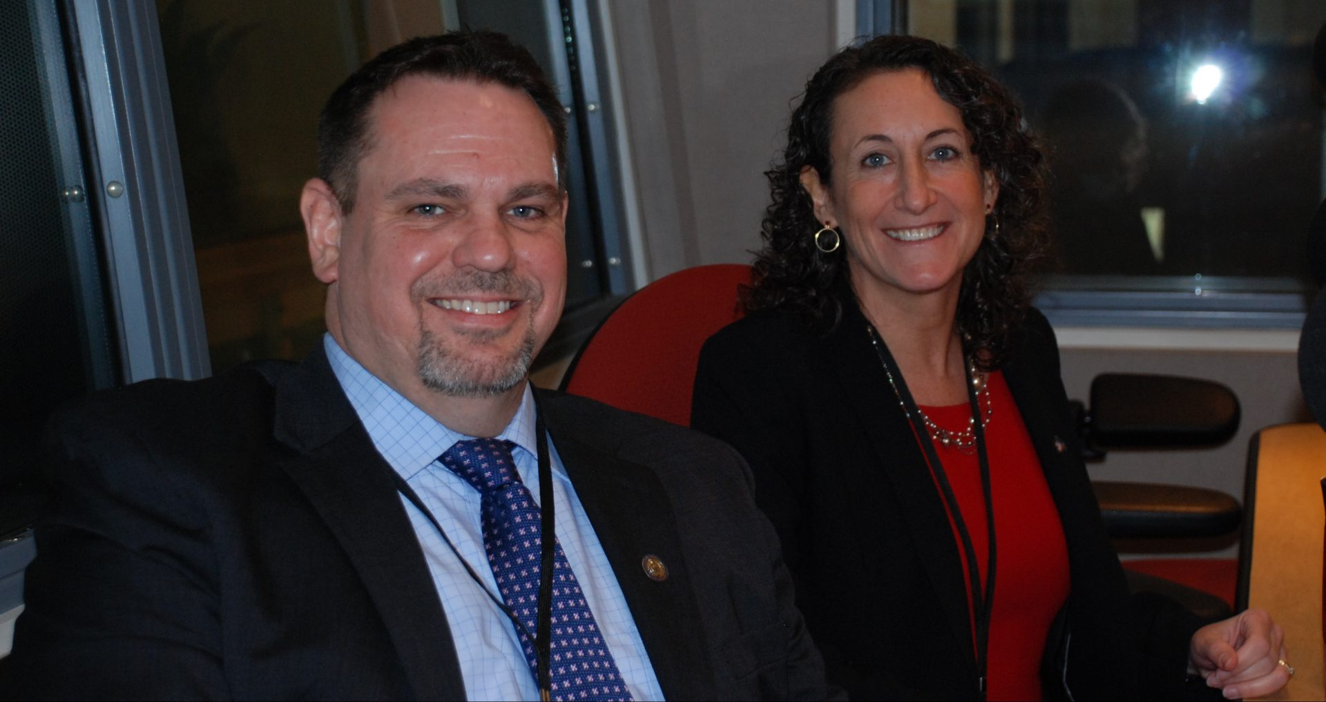 Secretary of State Kathy Bookvar and Deputy Secretary of State Jonathan Marks appear on Smart Talk on February 12, 2020.