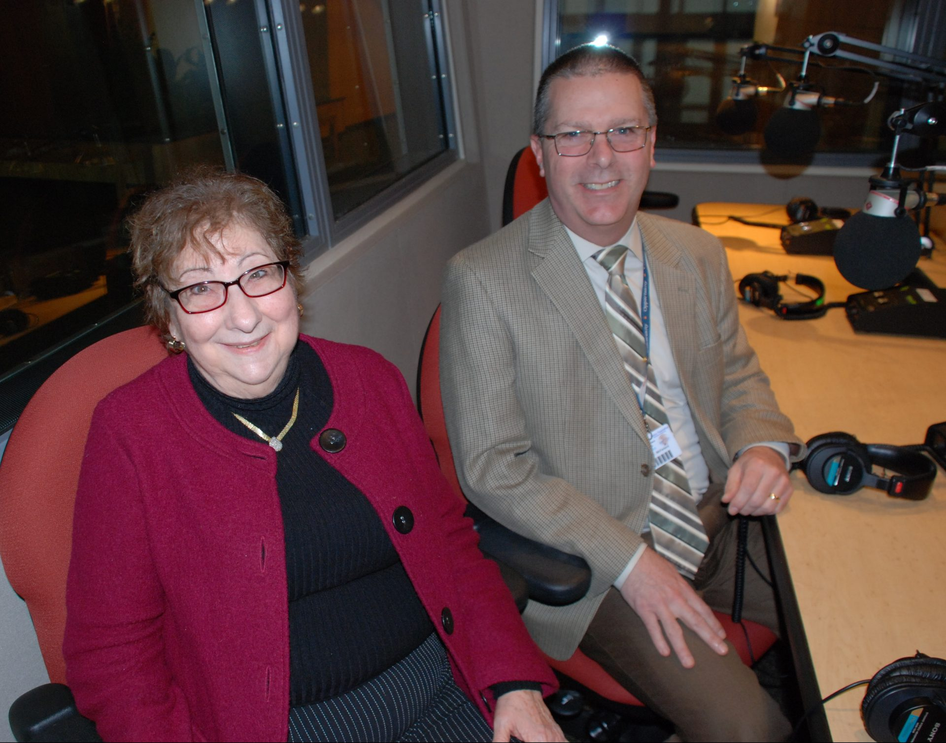 Dr. Gail Karafin and Superintendent Joe McFarland appear on Smart Talk on February 18, 2020.