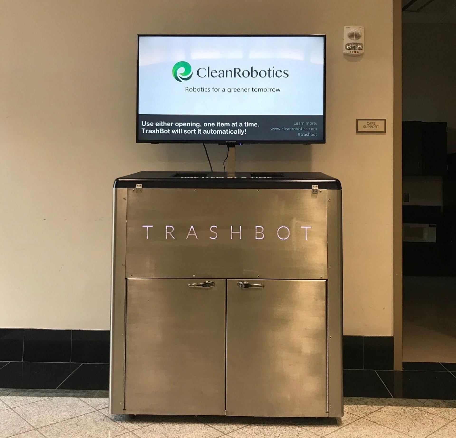 A CleanRobotics TrashBot.