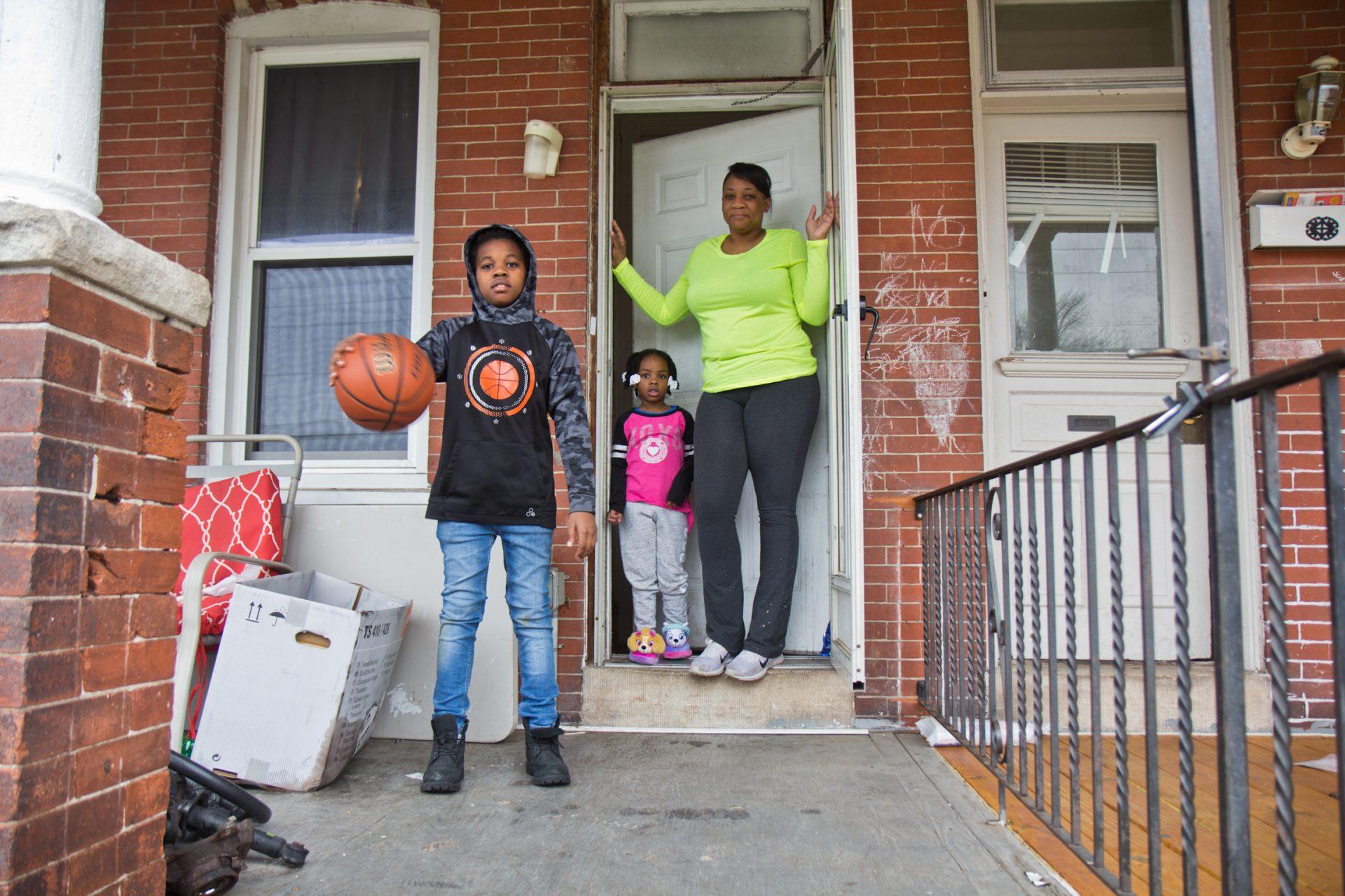 Norristown resident Lakeyia Johnson just reentered the workforce after a serious illness, but school closing due to COVID-19 are keeping her children and Johnson home.