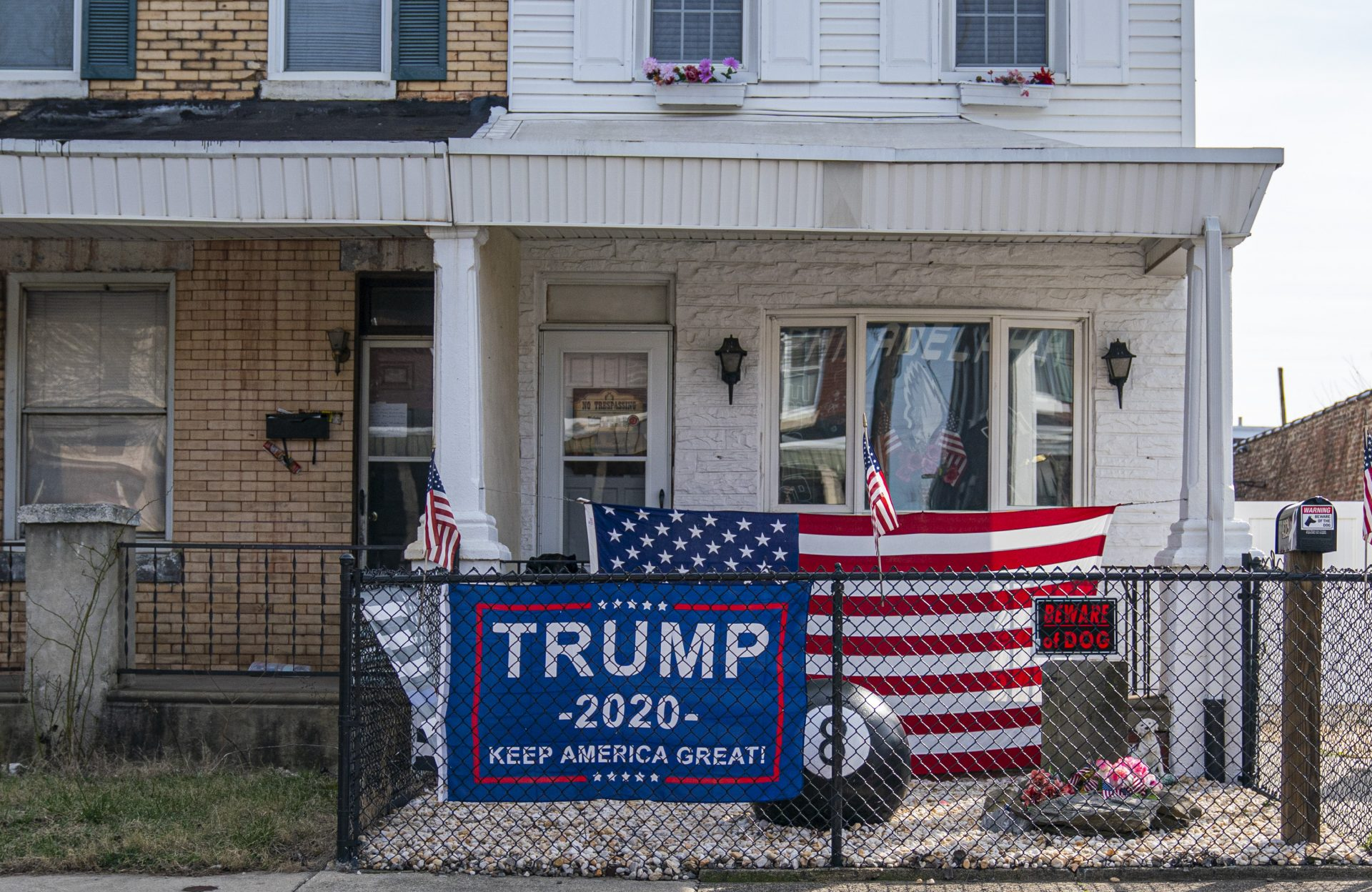 Registered Democrats dominate Bridesburg, but the neighborhood voted overwhelmingly for President Trump in 2016.