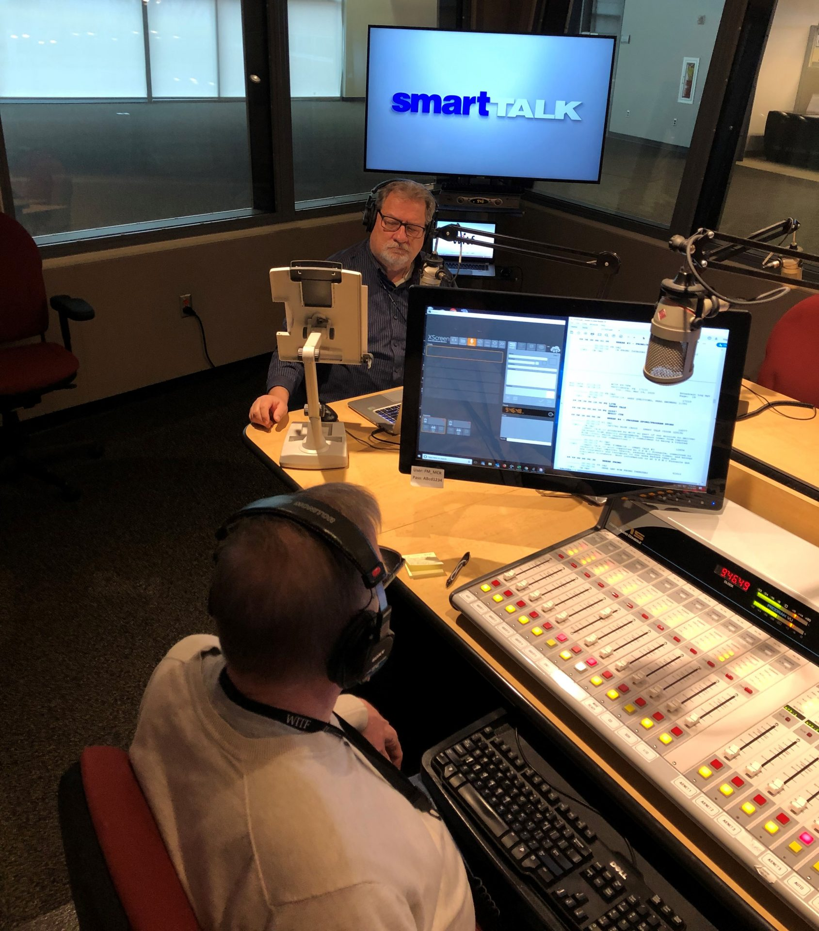 Smart Talk broadcast on March 19, 2020, with Host Scott LaMar and Engineer Craig Rhodes.