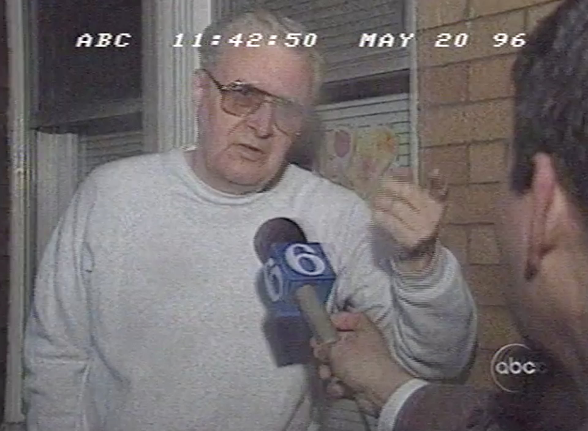A neighbor defends Bridesburg's treatment of Ward on Nightline's 1996 feature.