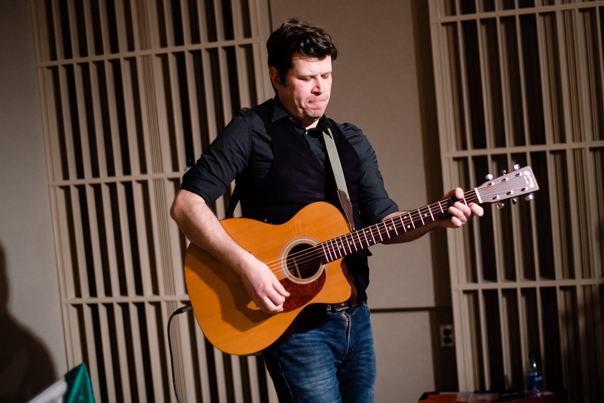 Guitarist James Lipka