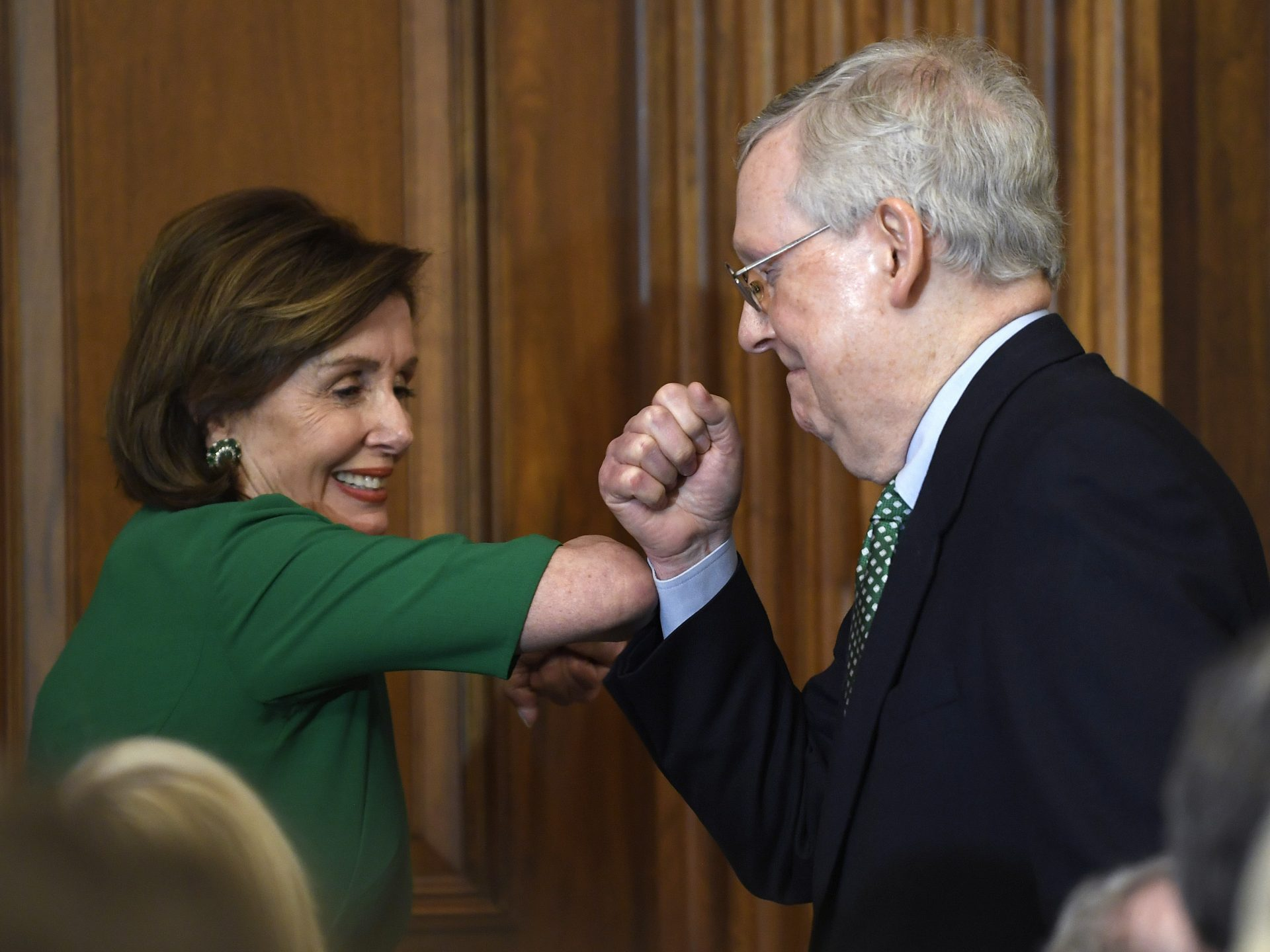 It is hoped for that House Speaker Nancy Pelosi and Senate Majority Leader Mitch McConnell can get the coronavirus legislation through their respective chambers through unanimous consent.