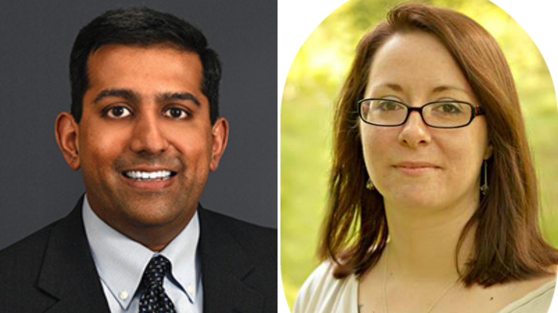 Dr. Arvind Venkat, MD, and Devany LeDrew appear on Smart Talk on March 18, 2020.