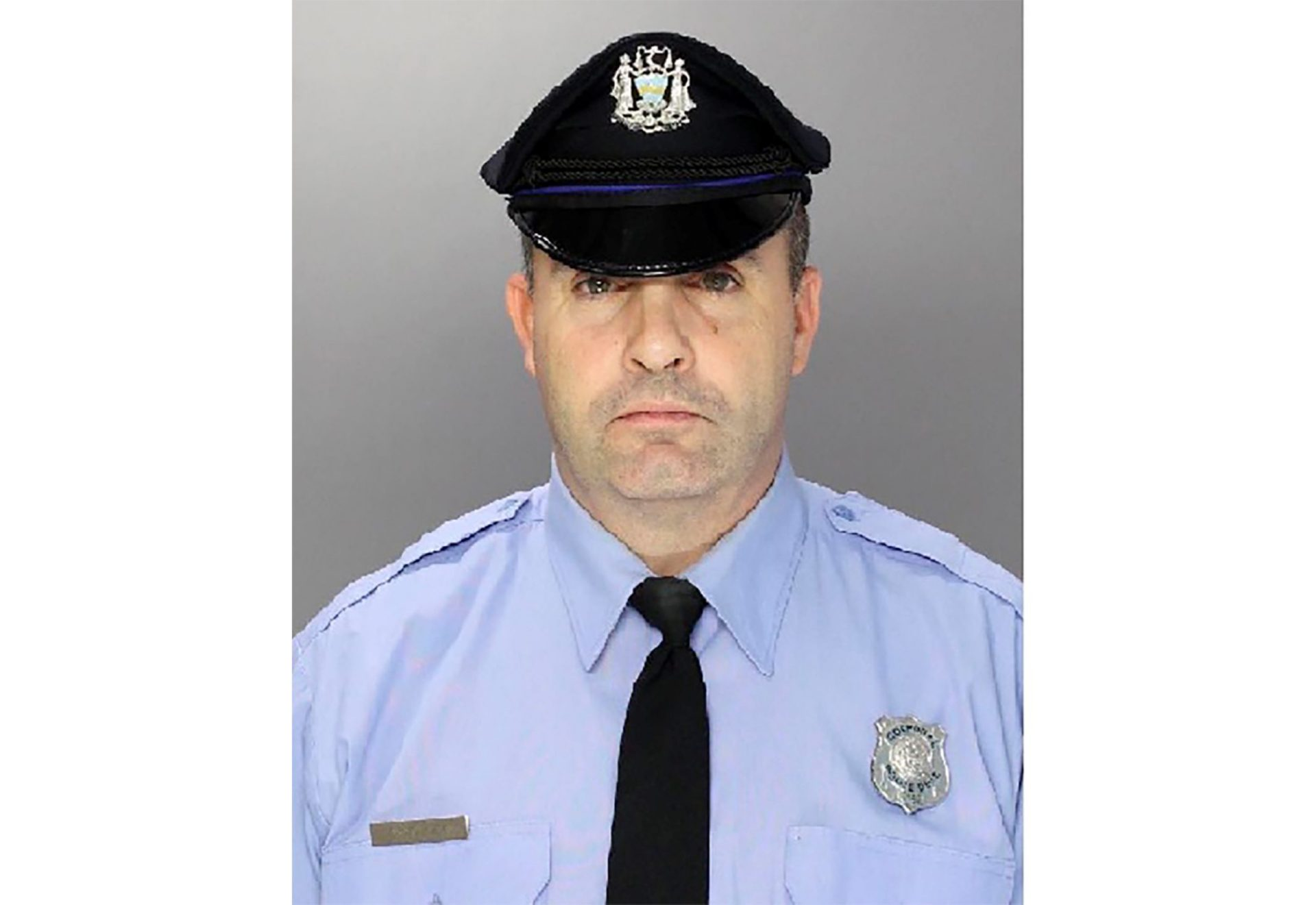 This undated photo provided by Philadelphia Police Department shows Corporal James O'Connor. O'Çonnor was shot and killed early Friday, March 13, 2020 as he served a homicide warrant at a home in the Philadelphia's Frankford section.