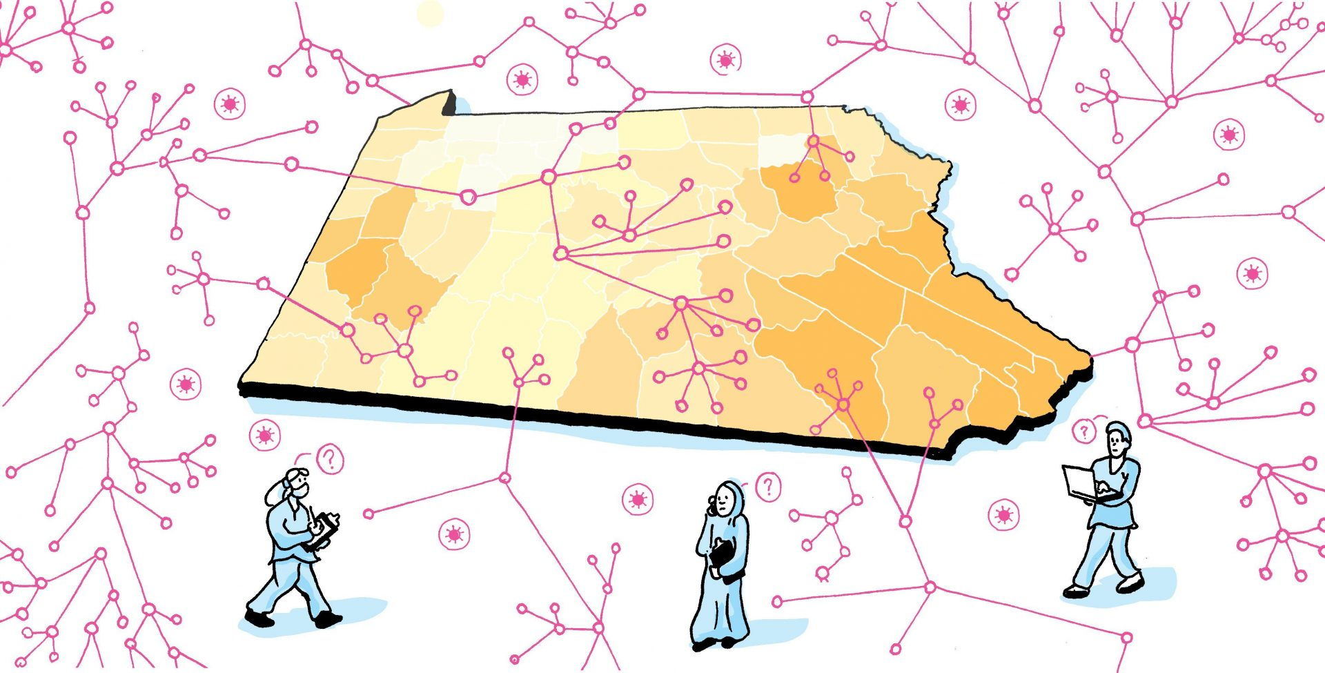 Officials in Massachusetts, New York, New Jersey, and Connecticut have all announced plans for a surge in contact tracers. So far, Pennsylvania health officials say they're still figuring out what to do.