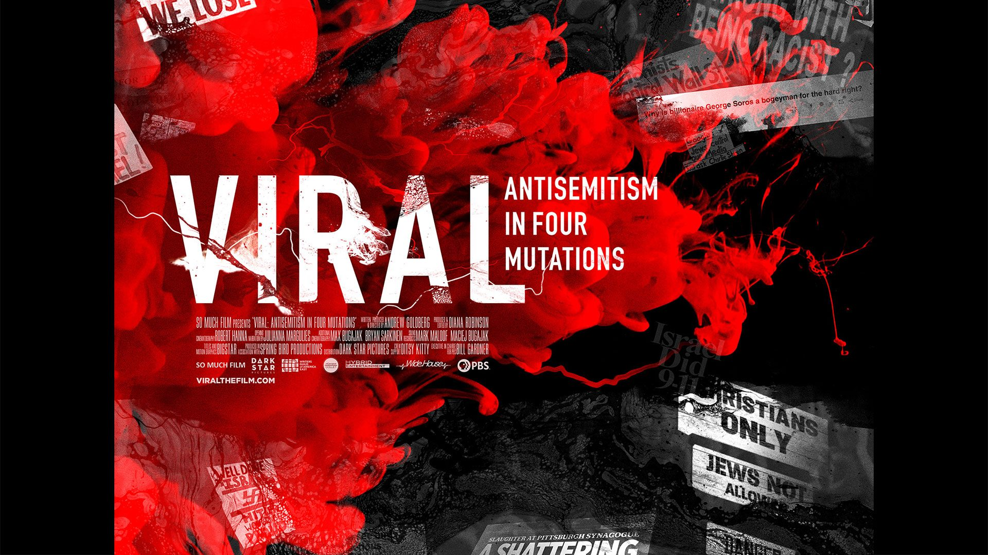 Viral: Antisemitism in Four Mutations title card