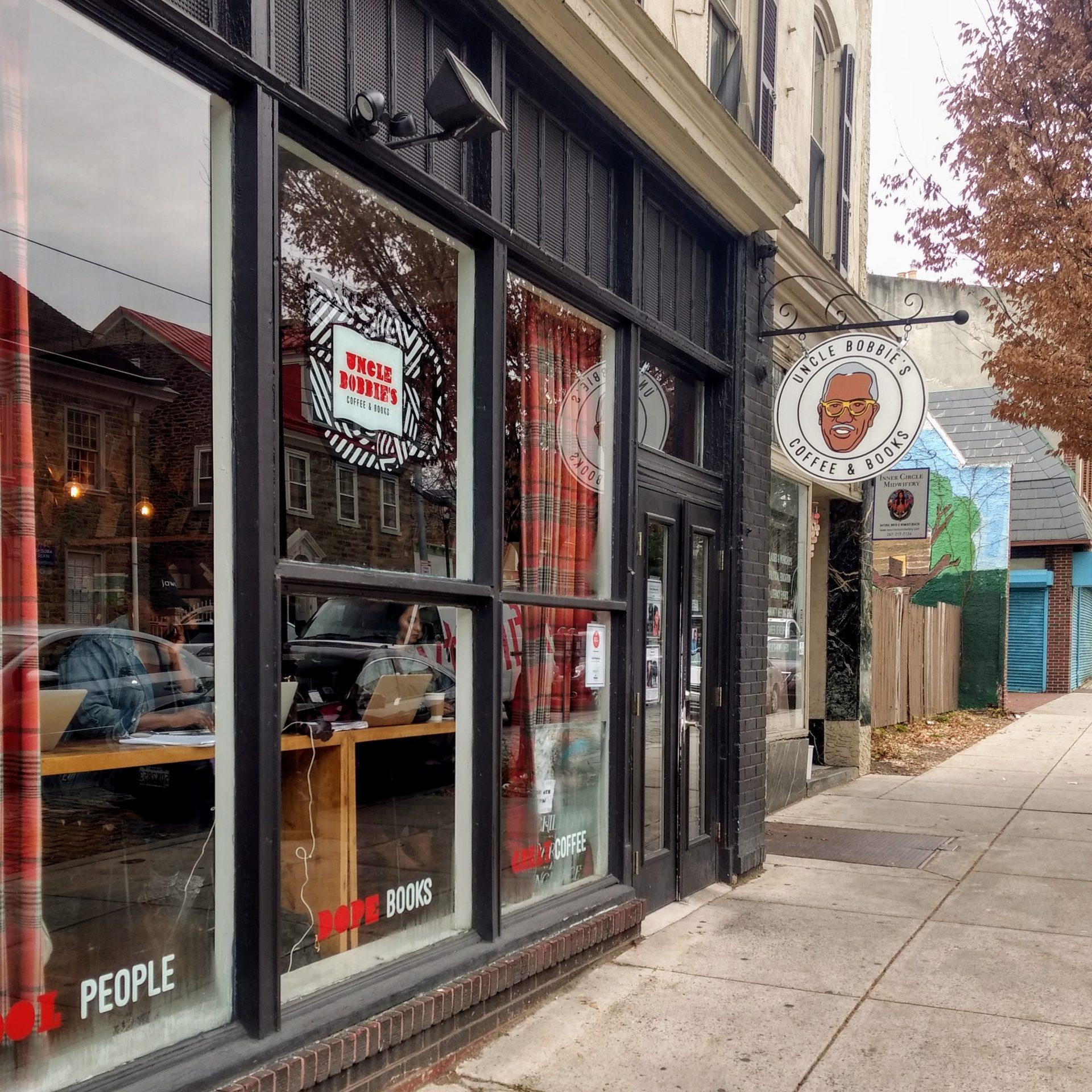 Uncle Bobbie's Coffee & Books in Germantown. (