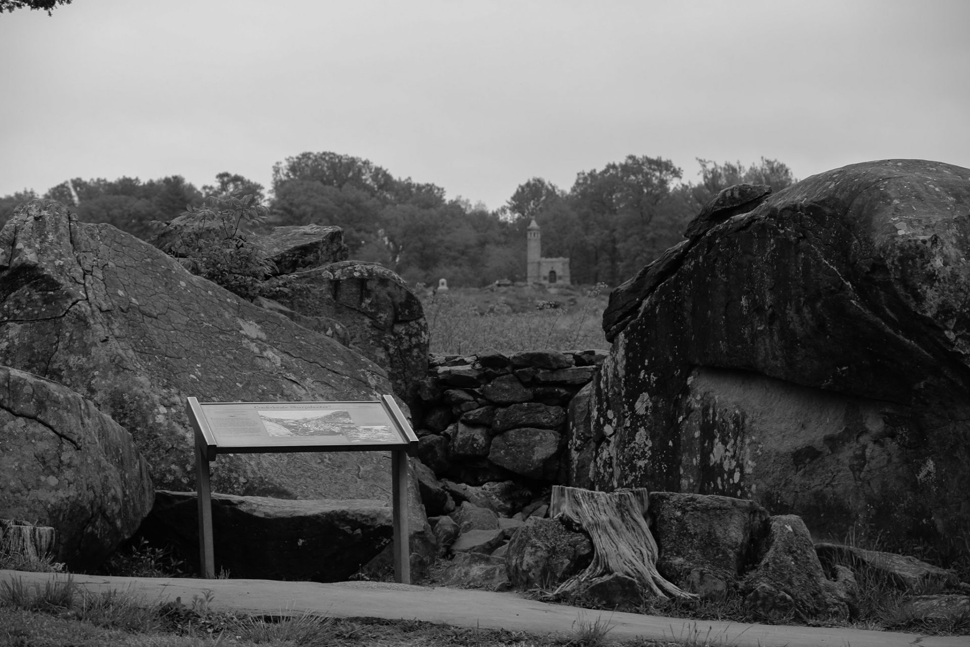 Devil's Den at the Gettysburg National Military Park