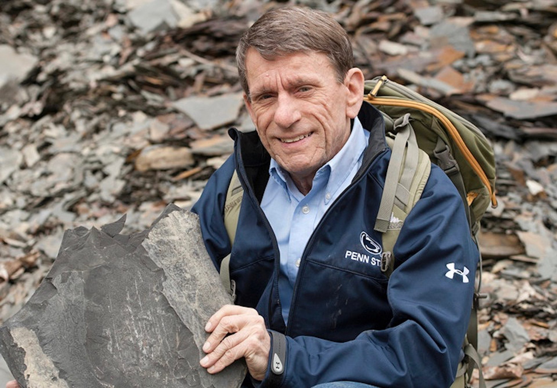 Terry Engelder, professor emeritus of geosciences at Penn State
