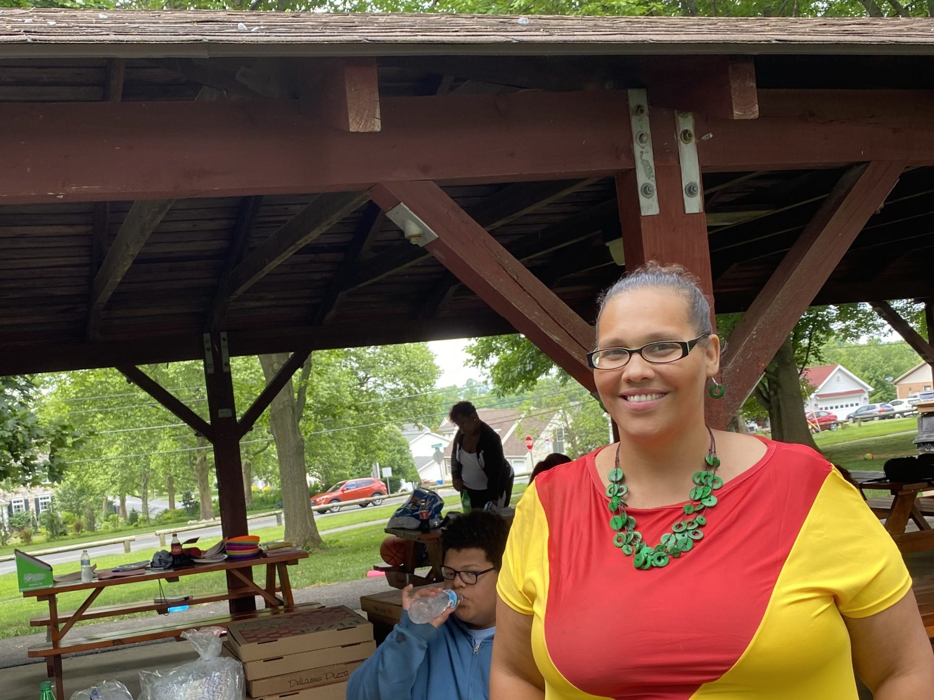 Michelle Cotton organized a small Juneteenth celebration at South Hills Park in Lebanon.