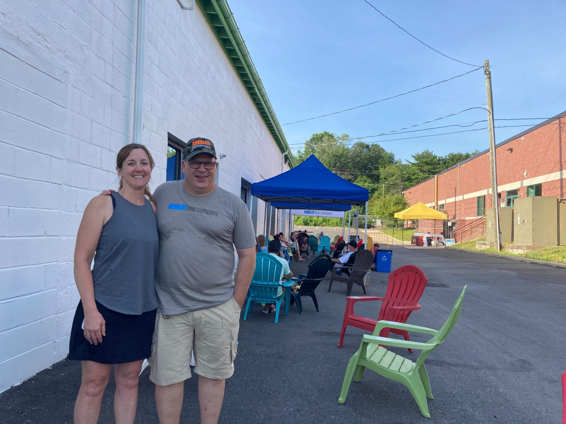 Liz and Doug Buddle own Ambler Brewing Company in Ambler, Pennsylvania. They have had to make multiple adjustments to their business operation to try and keep earning revenue during the pandemic.