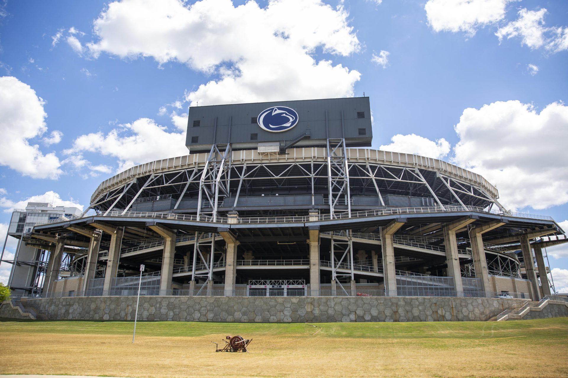 Beaver Stadium at Penn State's University Park campus in July 2020.