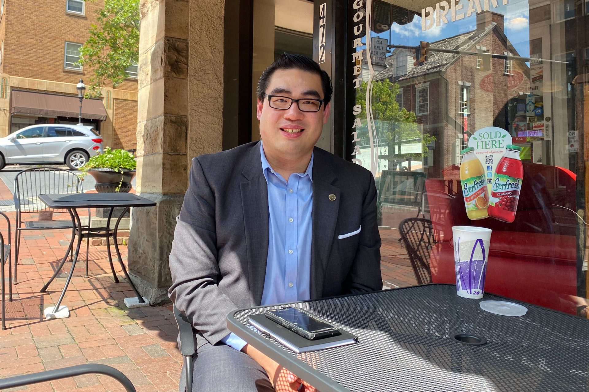 Sam Chen, Republican strategist and political science professor who grew up in the steel town of Bethlehem,Pa., says he will vote by mail.