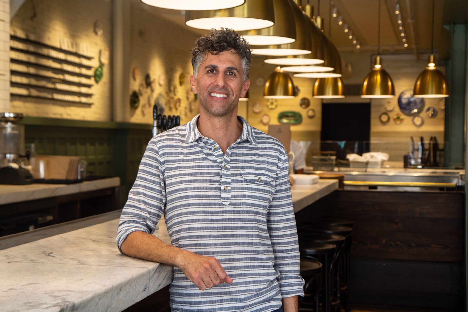 Sam Mink is the owner of the Oyster House in Center City.