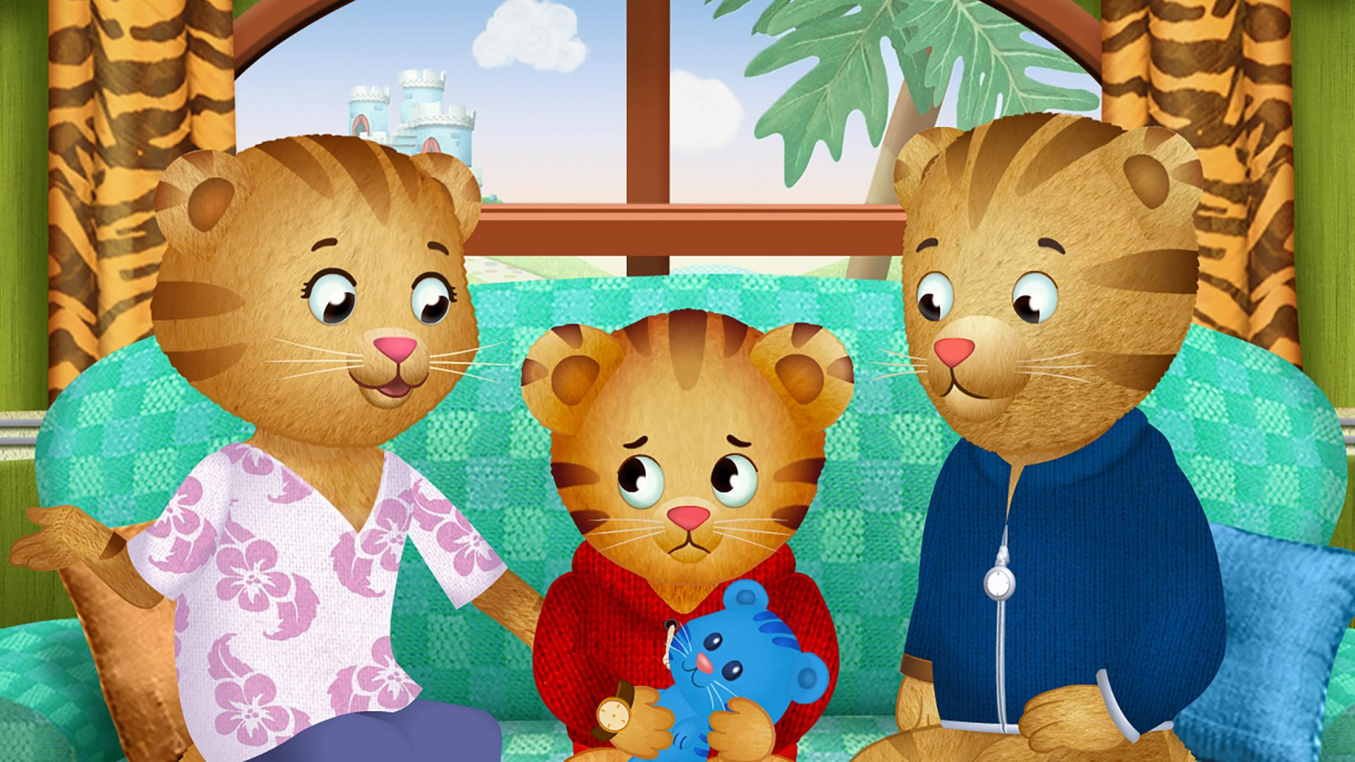Daniel Tiger Learns To Cope When The Pandemic Reaches The World Of Make Believe Witf