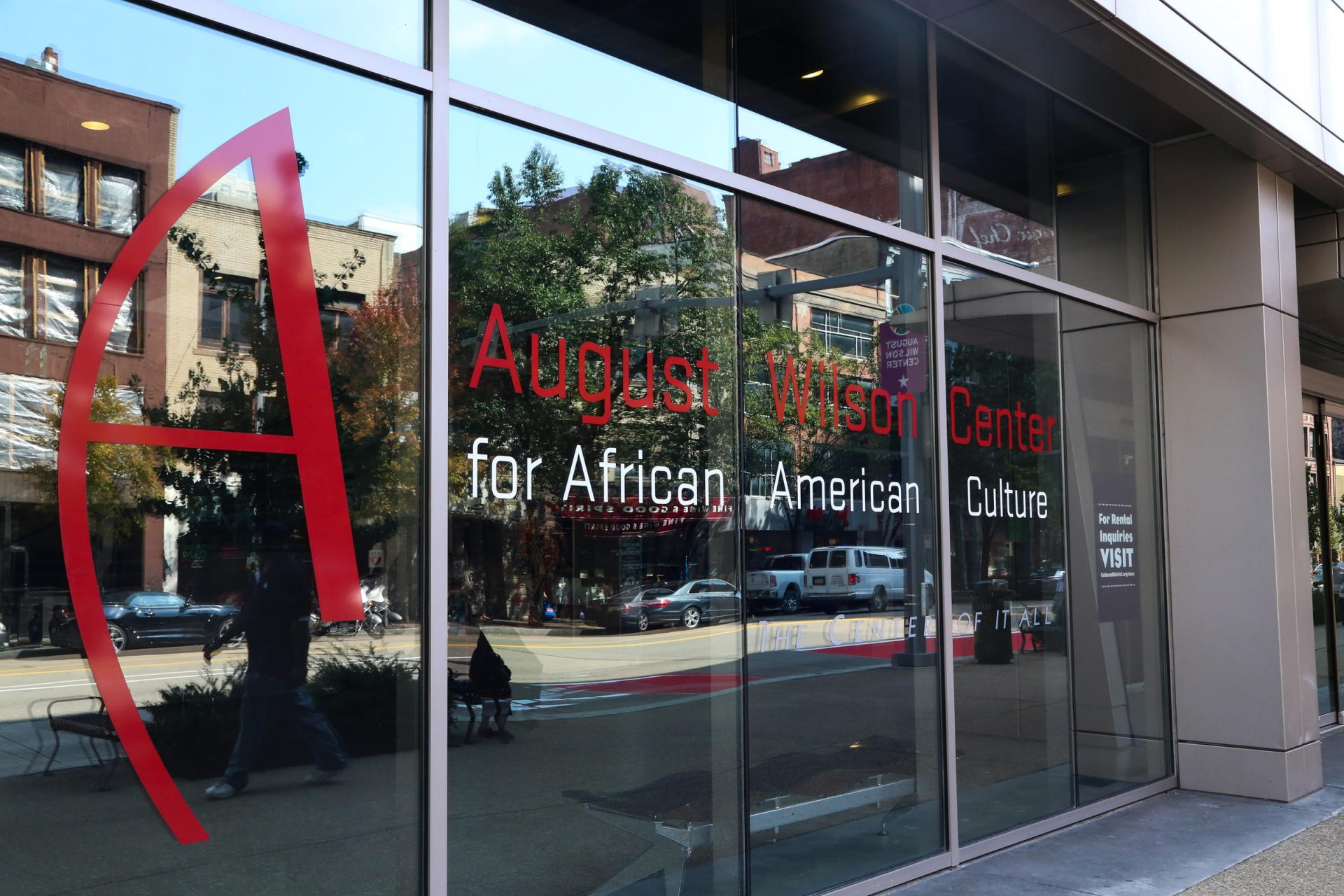 The August Wilson African American Cultural Center.