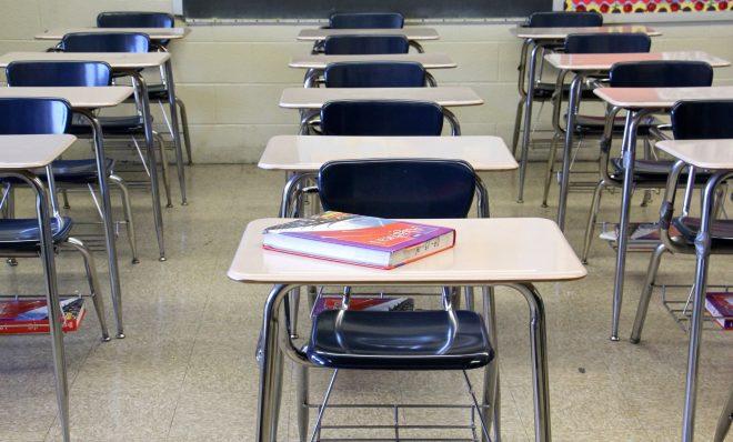 FILE PHOTO: Classroom at Lankenau High School.