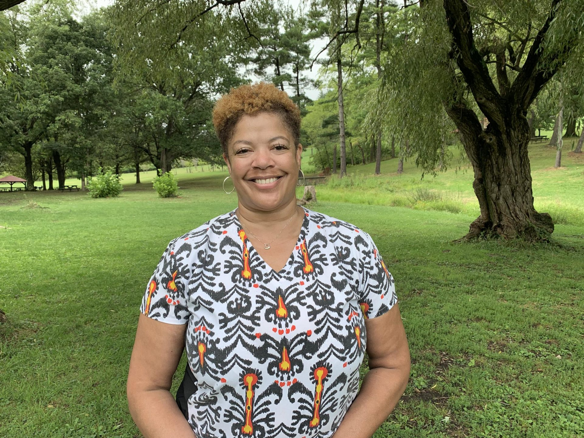 Andrea Long, of McCandless, lost her job in May. She has relied on SNAP and food banks to feed her and her son. She also works several hours a week at her church to earn extra income.