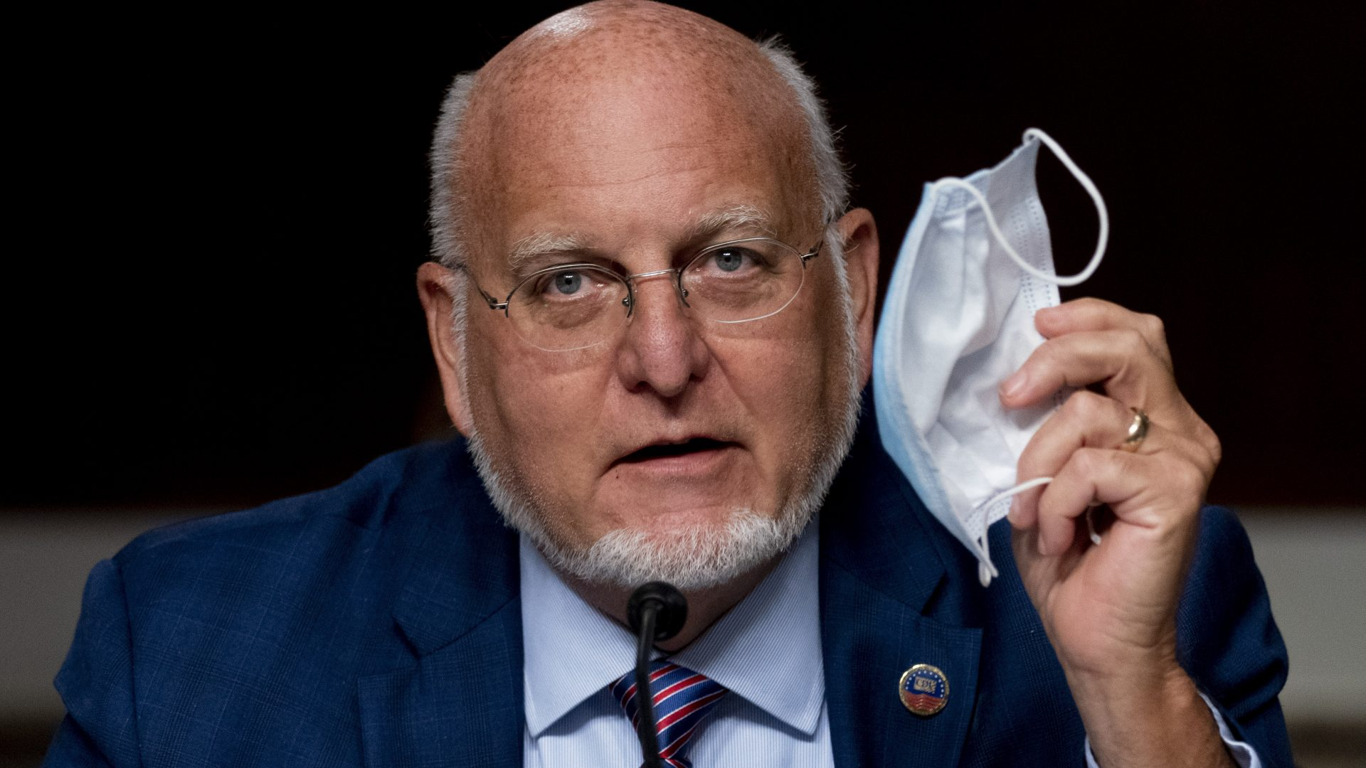 CDC Director Dr. Robert Redfield says wearing a mask may provide better protection against COVID-19 than a vaccine.