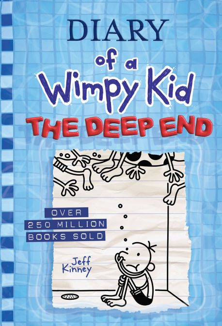 Book jacket for Diary of a Wimpy Kid - The Deep End