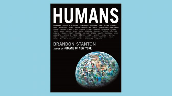 """""""Humans"""" book cover"""