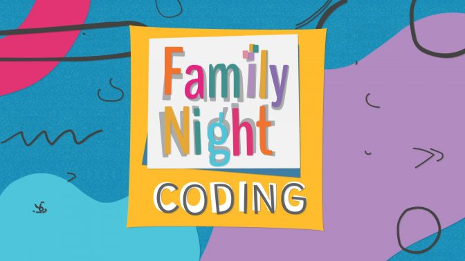 Family Night: Coding Title Card