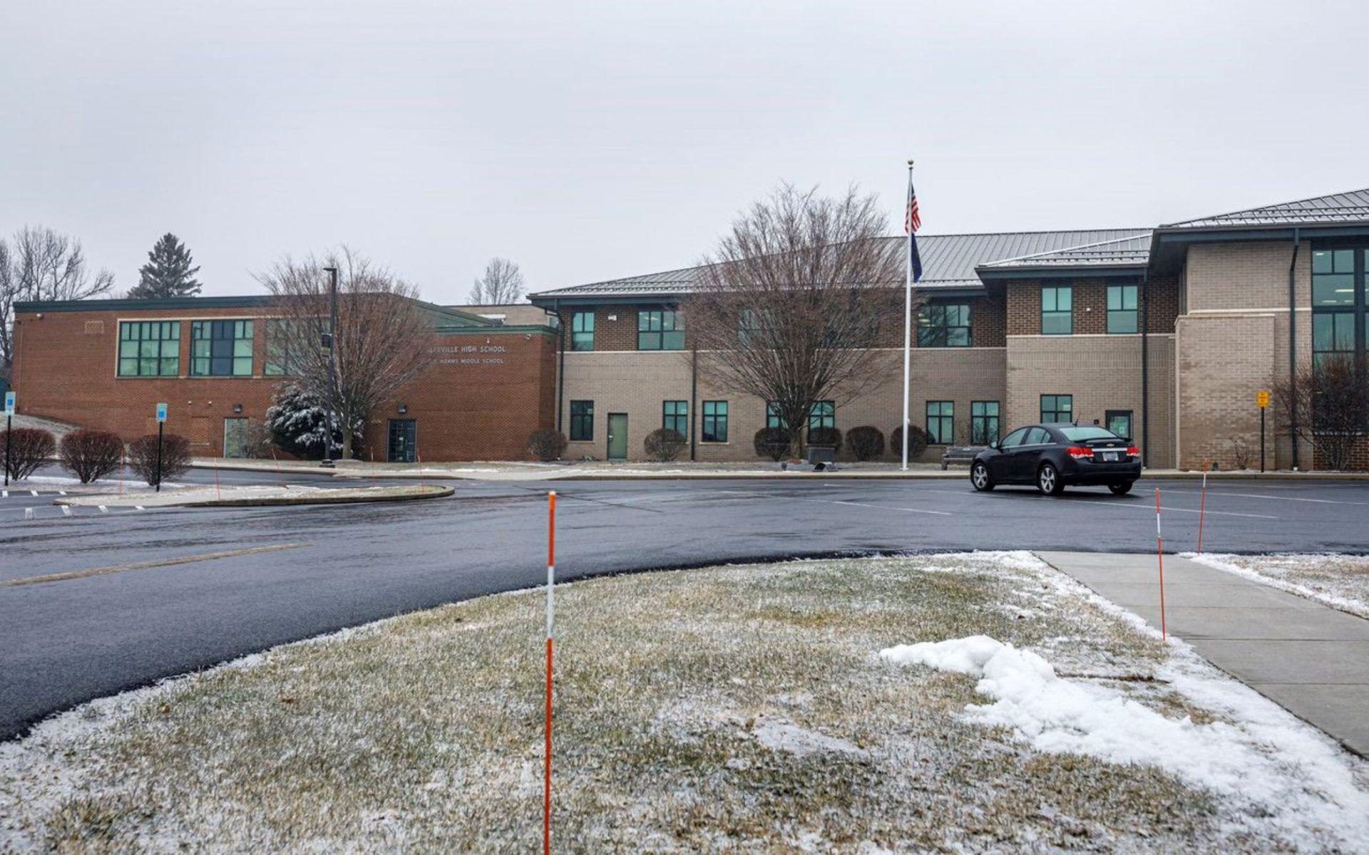 Biglerville High School and Upper Adams Middle School, in Adams County. January 26, 2021.