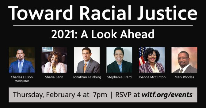 Toward Racial Justice | 2021: A Look Ahead