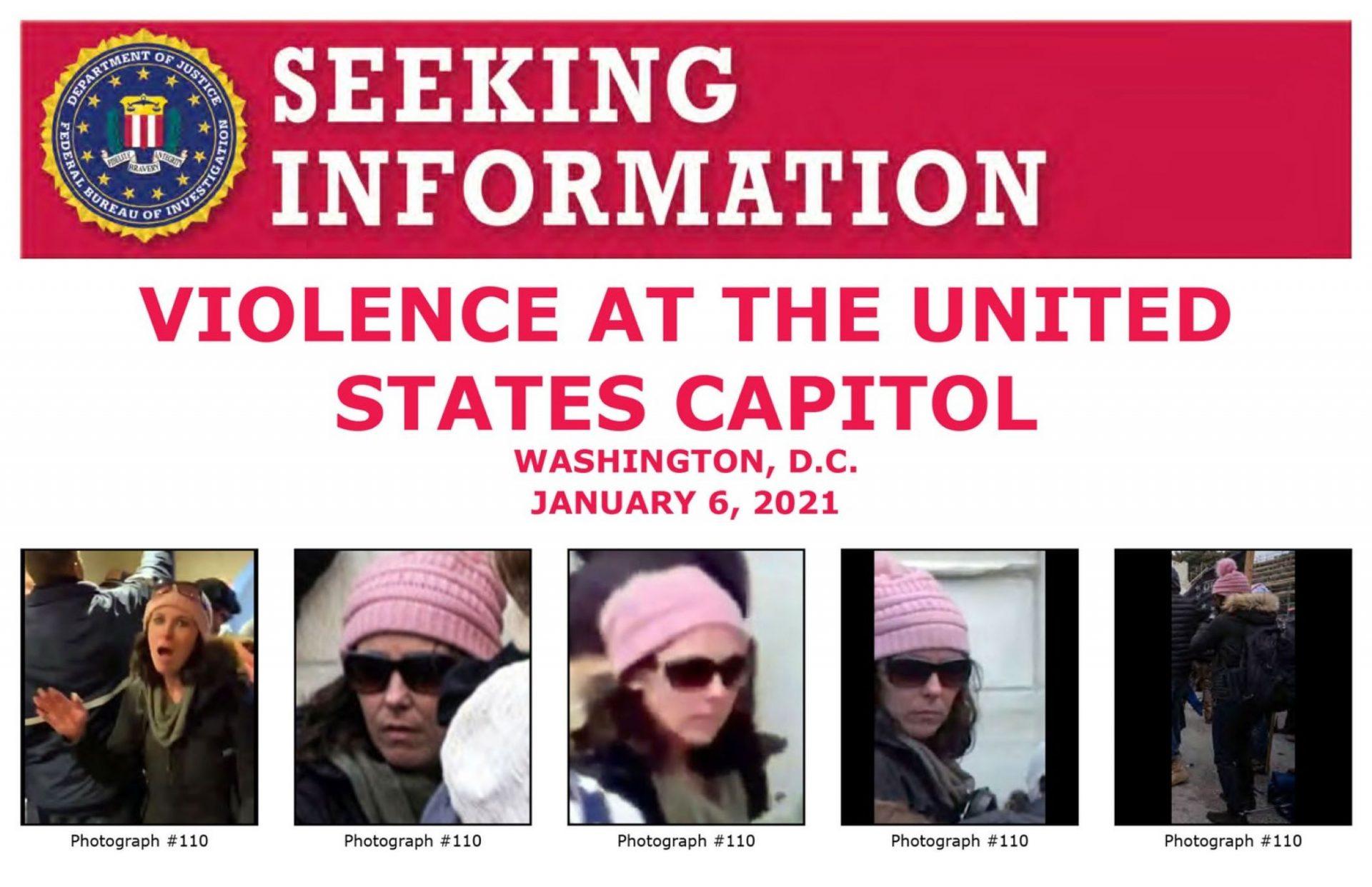 Rachel Powell is listed the FBI's wanted list.