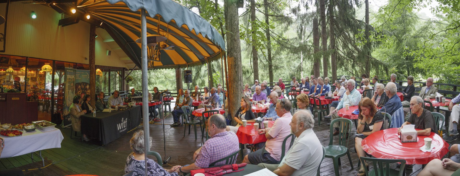 A remote Smart Talk broadcast from the Jigger Shop in Mount Gretna on Aug. 15, 2017.