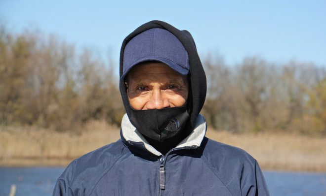 Leonard Stewart, 75, of Eastwick, found solace in his walks at the John Heinz National Wildlife Refuge after his wife died.