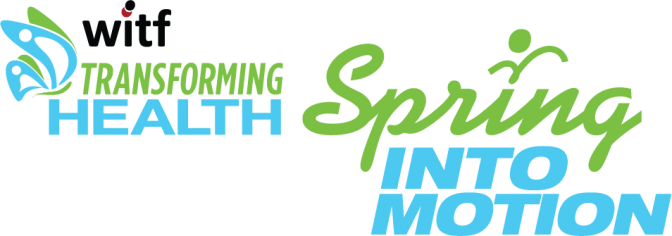 Transforming Health and Spring Into Motion logos
