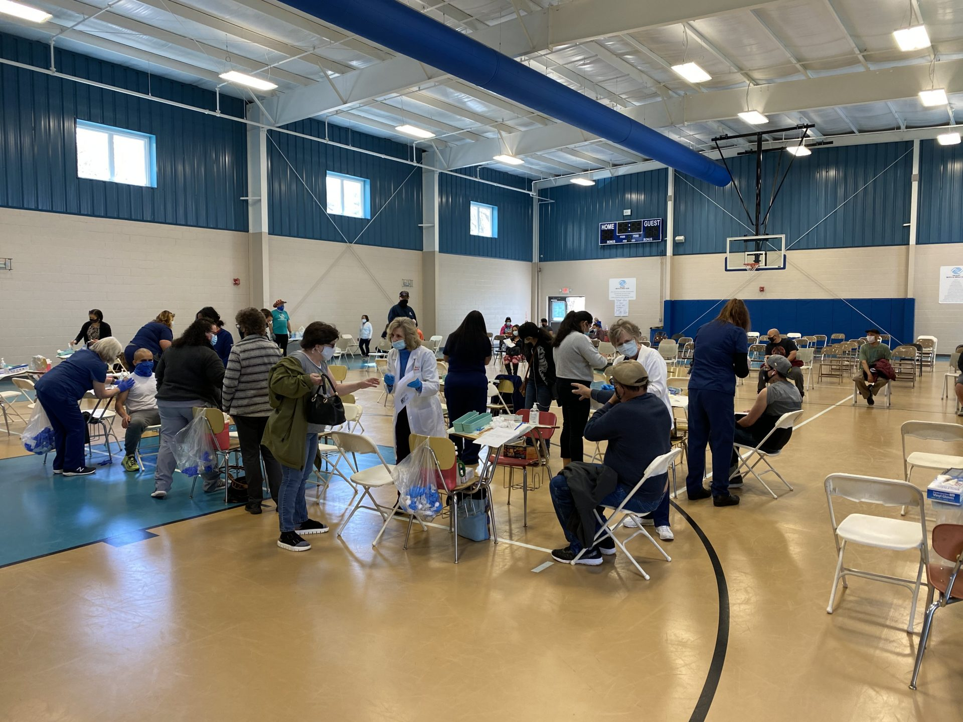 Olivet Boys and Girls Club vaccination