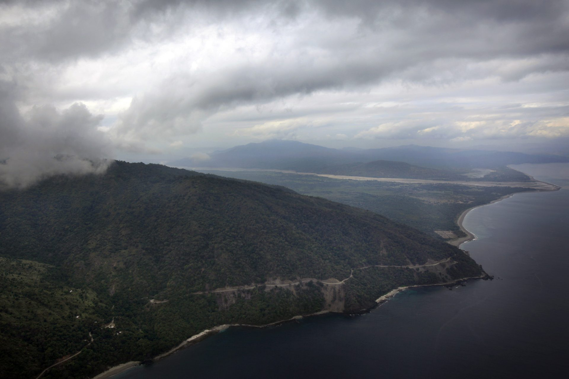 This Monday, July 5, 2010 aerial photo shows Oecussi, East Timor.