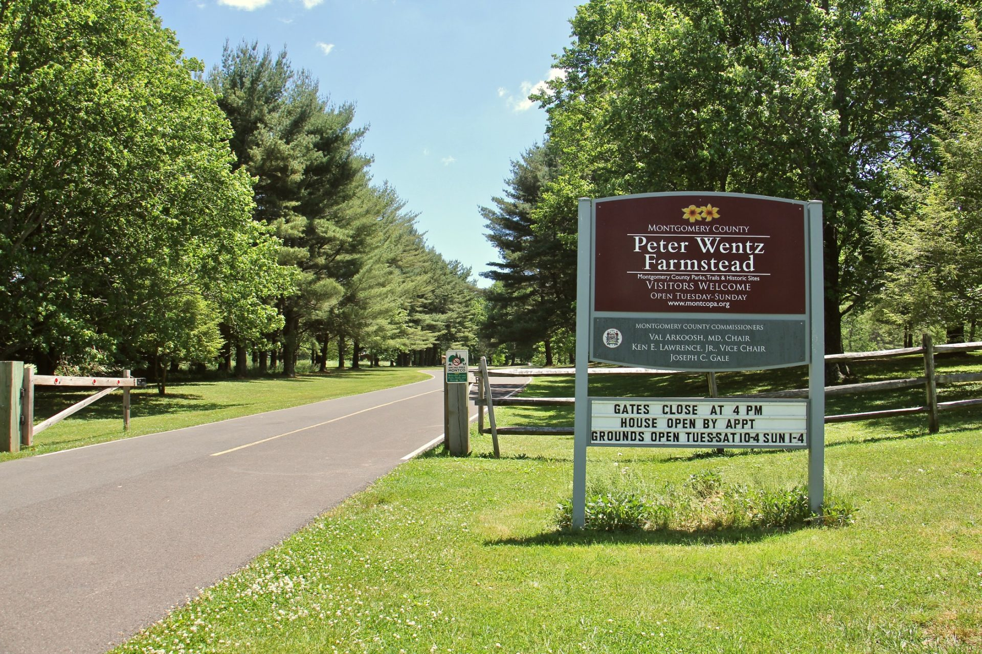 Peter Wentz Farmstead in Montgomery County has been recognized by the National Parks Service as a National Underground Railroad Network to Freedom historic site.