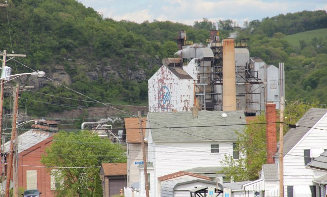 US Steel's Clairton Coke Works.