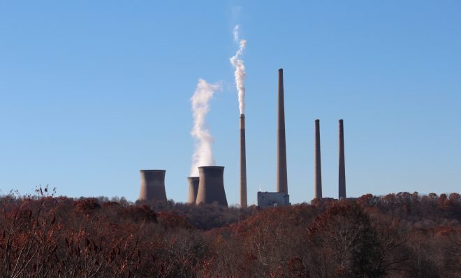 The coal-fired Homer City Generating Station.