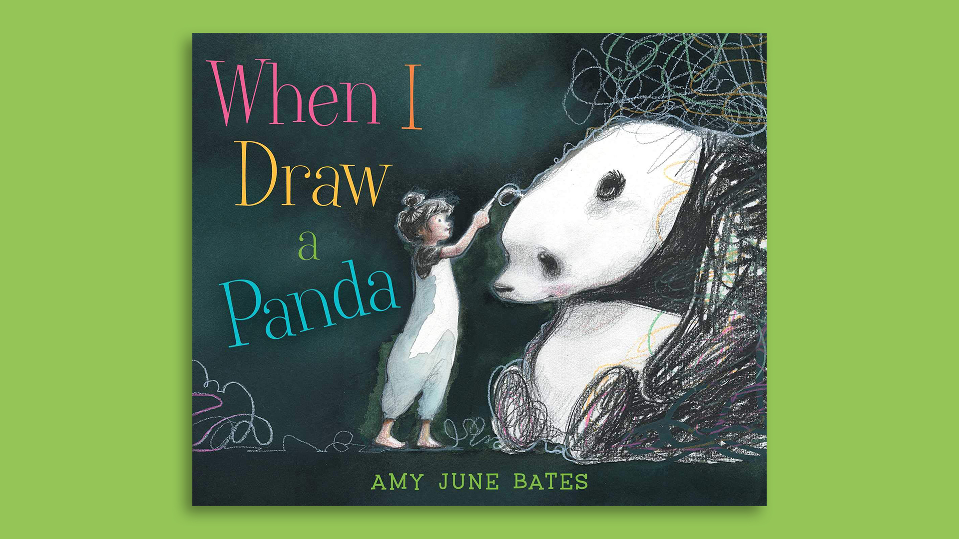Book cover of 'When I Draw a Panda'