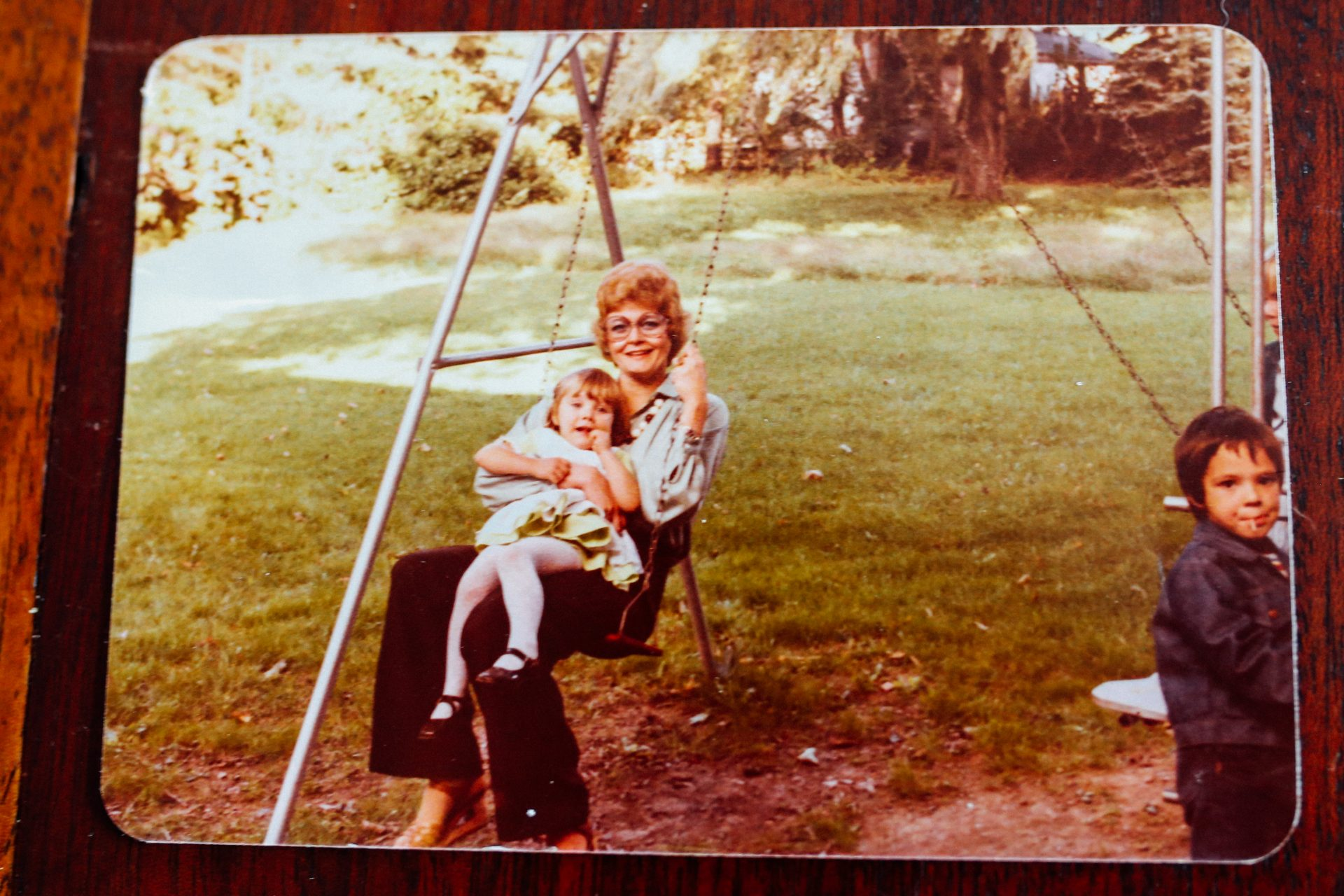 Lorraine Bay and her goddaughter Emily Schenkel